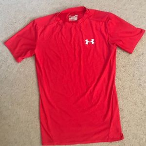 Boys under armour compression shirt. Size YL.